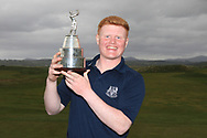 Josh Mackin (Dundalk) winner of the Ulster Boys Championship at Donegal Golf Club, Murvagh, Donegal, Co Donegal on Friday 26th April 2019.<br /> Picture:  Thos Caffrey / www.golffile.ie