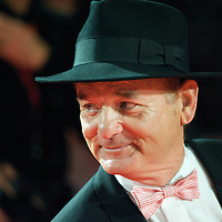 Actor Bill Murray attends the world premiere of 'Fantastic Mr. Fox,' on Wednesday night, October 13, 2009, at the Odeon, Leicester Square in London. Director Wes Anderson's film adaptation of the Roald Dahl classic children's story, opened the 53rd BFI London Film Festival.