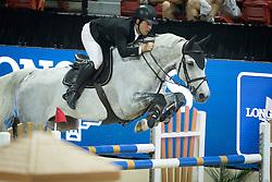 Alvarez Moya Sergio, (ESP), Carlo 273 <br />  Longines FEI World Cup™ Jumping Final Las Vegas 2015<br />  © Hippo Foto - Dirk Caremans<br /> Final III round 2 - 19/04/15