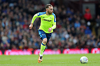 Aston Villa v Derby County - Sky Bet Championship<br /> BIRMINGHAM, ENGLAND - APRIL 28 :  Richard Keogh, of Derby County, brings the ball out of defence