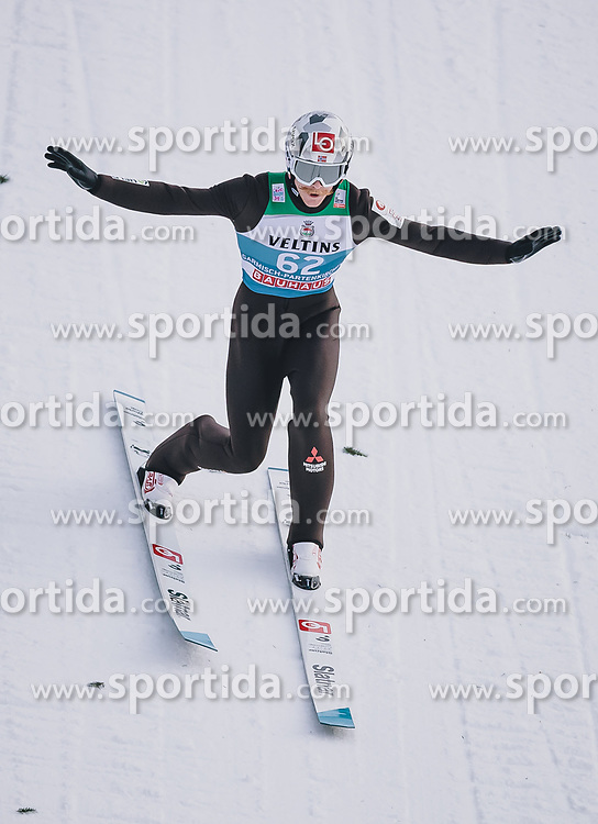 31.12.2019, Olympiaschanze, Garmisch Partenkirchen, GER, FIS Weltcup Skisprung, Vierschanzentournee, Garmisch Partenkirchen, Qualifikation, im Bild Robert Johansson (NOR) // Robert Johansson of Norway during his qualification Jump for the Four Hills Tournament of FIS Ski Jumping World Cup at the Olympiaschanze in Garmisch Partenkirchen, Germany on 2019/12/31. EXPA Pictures © 2019, PhotoCredit: EXPA/ JFK