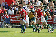IRB Emirates airline Dubai sevens 2008. match 10 action, Pool A Wales v Australia at the Sevens Stadium in Dubai on Friday 28th November 2008..pic by Andrew Orchard.