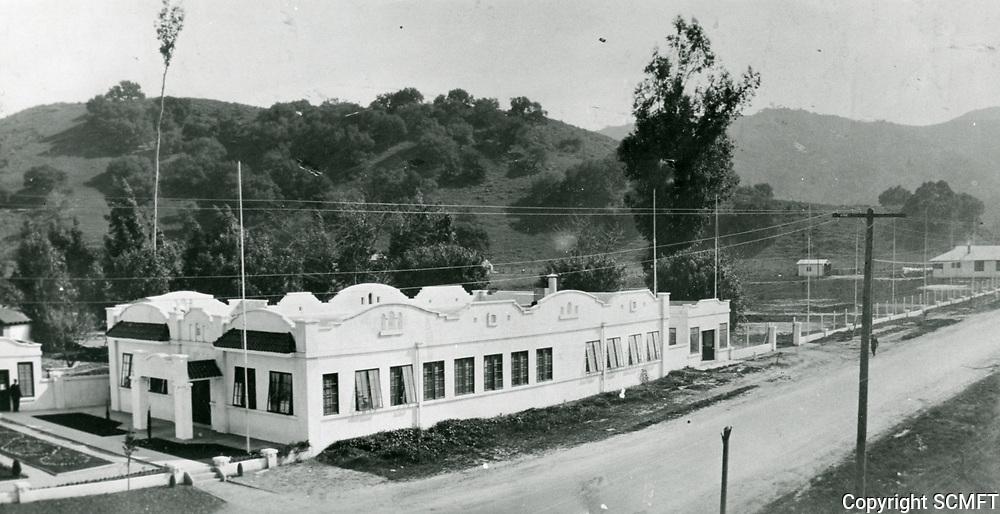 1913 Universal Film & Mfg. Co. studio in the San Fernando Valley