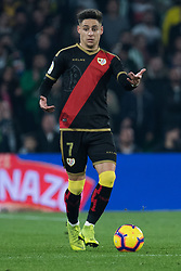 December 9, 2018 - Seville, Andalucía, Spain - Alex Moreno, Rayo, during the LaLiga match between Real Betis and Rayo in Benito Villamarín Stadium  (Credit Image: © Javier MontañO/Pacific Press via ZUMA Wire)