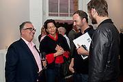 MCA- Sydney cocktails. Brandon rooms. ICA. London. 11 October 2011. <br /> <br />  , -DO NOT ARCHIVE-© Copyright Photograph by Dafydd Jones. 248 Clapham Rd. London SW9 0PZ. Tel 0207 820 0771. www.dafjones.com.