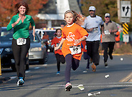 Girls on the Run at the Cornwall Fall Harvest 5K Race