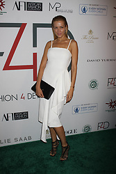 Petra Nemcova at Fashion 4 Development's 7th Annual First Ladies Luncheon in New York City.