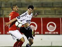 Fotball,1. februar 2012 , Copa del Sol<br /> Rosenborg - Spartak Moskva<br /> Daniel Fredheim Holm , RBK<br /> Sergio Rdoriguez , SM<br /> <br /> , Spartak Moscow