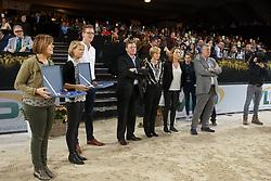 Verlooy Axel, Verlooy Nena, Smolders Harrie, Don VHP Z, Landbouwleven Paard van het jaar<br /> Vlaanderens Kerstjumping<br /> Memorial Eric Wauters<br /> Jumping Mechelen 2017<br /> © Hippo Foto - Dirk Caremans<br /> 26/12/2017