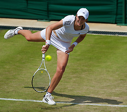 LONDON, ENGLAND - Wednesday, June 23, 2010: Kristina Barrois (GER) during the Ladies' Singles 2nd Round on day three of the Wimbledon Lawn Tennis Championships at the All England Lawn Tennis and Croquet Club. (Pic by David Rawcliffe/Propaganda)