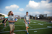 January 27 2016: New York Giants Eli Manning during the Pro Bowl Draft at Wheeler Army Base on Oahu, HI. (Photo by Aric Becker/Icon Sportswire)