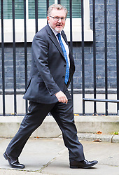 London, October 17 2017. Scotland Secretary David Mundell leaves the UK cabinet meeting at Downing Street. © Paul Davey