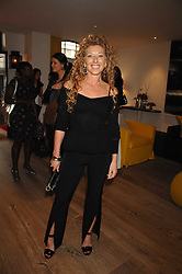 Interior designer KELLY HOPPEN at a party to celebrate Westfield London's sponsorship of the British Fashion Council's Fashion Forward Awards held at the Haymarket Hotel, 1 Suffolk Place, London on 17th July 2007.<br /><br />NON EXCLUSIVE - WORLD RIGHTS