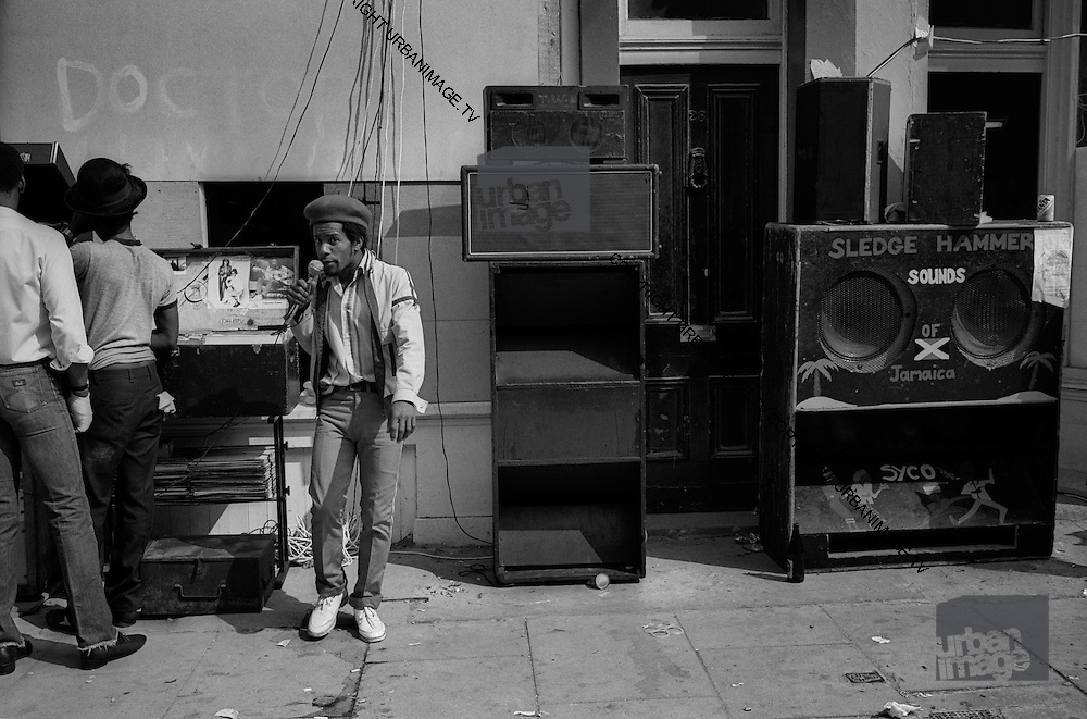 DJ and Sound System - Notting Hill Carnival - 1979