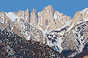 Mount Whitney from the Alabama Hills, Sierra Range, CA