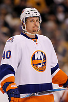 Ishockey<br /> NHL USA<br /> 07.11.2011<br /> Foto: Gepa/Digitalsport<br /> NORWAY ONLY<br /> <br /> NHL, National Hockey League, Boston Bruins vs New York Islanders. Bild zeigt Michael Grabner (Islanders).
