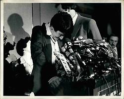 Apr. 04, 1980 - Rosie Ruiz, Broke Down during hes news conference at the Summit Hotel in New York today. (Credit Image: © Keystone Press Agency/Keystone USA via ZUMAPRESS.com)