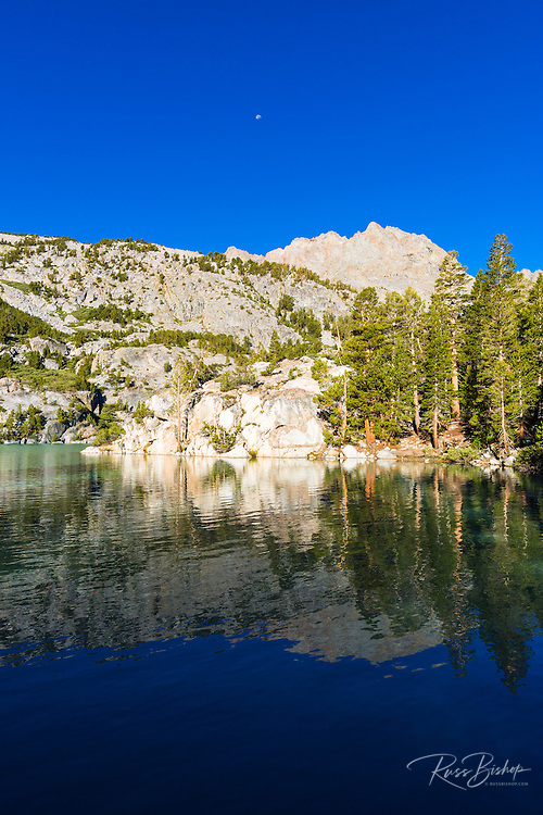Second Lake under the Palisades, Big Pine Lakes basin, John Muir Wilderness, California