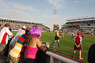Scenes during the opening round of the 2008-2009 IRB World series sevens at the IRB Emirates Airline Dubai sevens held at the Sevens Stadium in Dubai, United Arab Emirates on 27th-29th November 2008. pic by Andrew Orchard