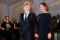 Robert Redford and Sibylle Szaggars attending the Our Souls at Night premiere during the 74th Venice International Film Festival (Mostra di Venezia) at the Lido, Venice, Italy on September 01, 2017. Photo by Aurore Marechal/ABACAPRESS.COM