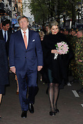 Bevrijdingsconcert 2015 op de Amstel in Amsterdam in aanwezigheid van de koninklijke Familie<br /> <br /> Freedomconcert 2015 on the Amstel River in Amsterdam in the presence of the Royal Family<br /> <br /> Op de foto / On the photo:  Koning Willem-Alexander en Koningin Maxima  //// King Willem-Alexander and Queen Maxima