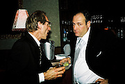 James Gandolfini and Milo Reice. Post Golden Globes Miramax party. Beverley Hilton. 21 January 2001. © Copyright Photograph by Dafydd Jones 66 Stockwell Park Rd. London SW9 0DA Tel 020 7733 0108 www.dafjones.com