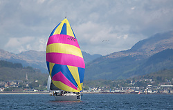 Lights winds dominated the Pelle P Kip Regatta  at Kip Marine weekend of 12/13th May 2018<br /> <br /> Moonstruck Too<br /> <br /> Images: Marc Turner
