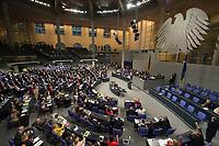 29 JUN 2012, BERLIN/GERMANY:<br /> Uebersicht waehrend der ersten Abstimmung durch Hand aufheben zum Fiskalpakt, zum dauerhaften Euro-Rettungsschirm ESM, zur ESM-Finanzierung und zur Aenderung des Vertrags über die Arbeitsweise der Europaeischen Union , Plenum, Deutscher Bundestag<br /> IMAGE: 20120629-01-155<br /> KEYWORDS: Fiskalpakt, dauerhafter Rettungsschirm EFSM, Fiskalvertrag, Einrichtung des Europäischen Stabilitätsmechanismus, Europäischen Stabilitätsmechanismus ESM-Finanzierungsgesetz ESMF, Stabilitaetsunion, Übersicht
