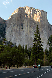 El Capitan in Yosemite National Park in California photographed on Thursday, June 24, 2004. Young Scott Cory, of Brentwood, Calif. hopes to soon attempt to climb both this mountain and Half Done within a 24 hour period. Only 14 climbers have ever completed the feat and Cory would be the youngest.  (Contra Costa Times/Dan Honda )/ZUMA Press (Credit Image: © Dan Honda/Contra Costa Times/ZUMAPRESS.com)