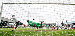 Falkirk's Mark Millar clears.<br /> Dundee 0 v 1 Falkirk, Scottish Championship game played today at Dundee's Dens Park.<br /> © Michael Schofield.