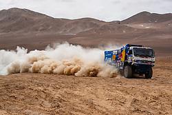 January 10, 2019 - Arequipa, Peru - AREQUIPA, PU - 10.01.2019: DAKAR 20189 - Karginov Andrey (RUS) during the 2019 Dakar Rally, on Wednesday (10), in Arequipa, Peru. (Credit Image: © Vinicius Branca/Fotoarena via ZUMA Press)