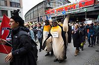 DEU, Deutschland, Germany, Berlin, 29.03.2019: Demonstration von Schülern unter dem Motto Fridays for Future für eine bessere Klimaschutz-Politik.