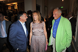 Left to right, RAYMOND BLANC, RUTH ROGERS owner and co-founder of The River Cafe and her husband LORD ROGERS at the Tatler Restaurant Awards 2011 held at the Langham Hotel, Portland Place, London on 9th May 2011.