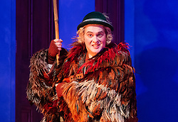 The Magic Flute <br /> Music by Mozart <br /> Welsh National Opera, Wales Millennium Centre, Cardiff, Wales, Great Britain <br /> 13th February 2019 <br /> Directed by Dominic Cooke <br /> <br /> <br /> Mark Stone as Papageno<br /> <br /> <br /> <br /> <br /> <br /> Photograph by Elliott Franks