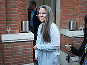KOO STARK, DAVID BAILEY: THEN.-private view of an exhibition of photographs. Hamiltons. London. 6 July 2010. -DO NOT ARCHIVE-© Copyright Photograph by Dafydd Jones. 248 Clapham Rd. London SW9 0PZ. Tel 0207 820 0771. www.dafjones.com.
