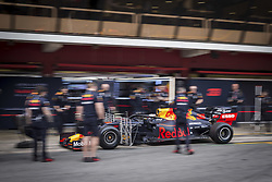February 20, 2019 - Barcelona, Spain - VERSTAPPEN Max (ned), Aston Martin Red Bull Racing Honda RB15, portrait during Formula 1 winter tests from February 18 to 21, 2019 at Barcelona, Spain - Photo  /  Motorsports: FIA Formula One World Championship 2019, Test in Barcelona, (Credit Image: © Hoch Zwei via ZUMA Wire)