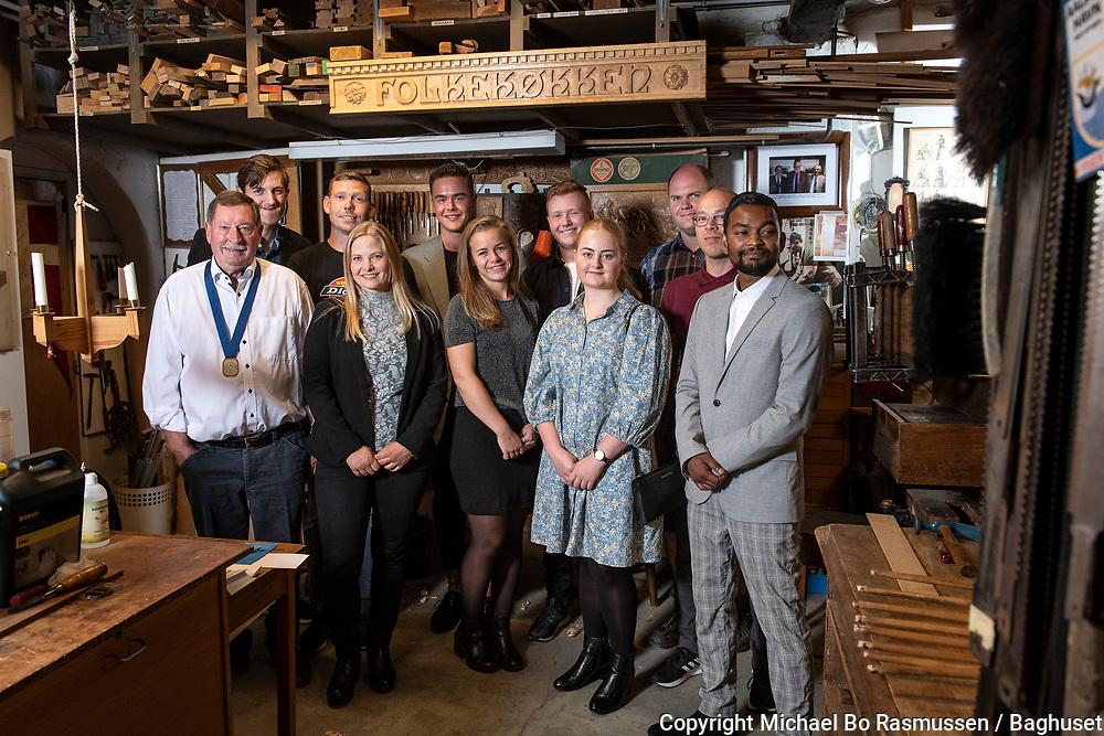 SMV Aalborgs legater. Legatuddeling i Håndværkerhuset. Foto: © Michael Bo Rasmussen / Baghuset. Dato: 09.09.20