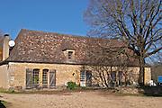 The farm house Truffiere de la Bergerie (Truffière) truffles farm Ste Foy de Longas Dordogne France