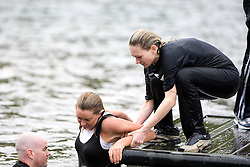 The Institute Of Krav Maga Scotland held the first ever 'Krav Island' Seminar on Sunday 22nd August on the beautiful Inchcailloch Island, Loch Lomond. Part of the seminar took place in the cold waters of the loch..Pic ©2010 Michael Schofield. All Rights Reserved.