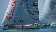 The Artemis Challenge at Aberdeen Asset Management Cowes Week 2014. <br /> Abu Dhabi and Oman Sail<br /> FREE for editorial use. Credit: Lloyd Images
