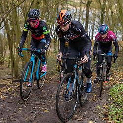 OLDENZAAL (NED) wielrennen<br />Ilse Pluimers, Josine Woudsma