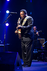 George Benson performs at the Montreux Jazz Festival, Switzerland on July 13, 2017. Photo by Loona/ABACAPRESS.COM