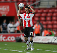 Photo: Lee Earle.<br /> Southampton v Panathinaikos. Pre Season Friendly. 29/07/2006. Southampton's Gareth Bale.