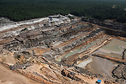 Bauxite mine<br /> Linden town<br /> GUYANA<br /> South America