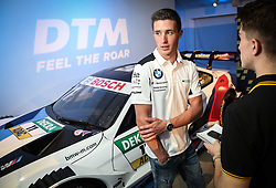 Joel Eriksson during the DTM press activity and reception at the Hospital Club, London. PRESS ASSOCIATION Photo. Picture date: Wednesday July 18. 2017. Former F1 driver and Channel 4 commentator David Coulthard is celebrating the return of the prestigious DTM race series to the UK after a 5-year absence. Racing for the first time on the full Grand Prix circuit, the DTM championship will see touring cars from Audi, BMW and Mercedes-AMG pitted against one another on the twists and turns of the iconic Brands Hatch track on 11-12 August. Photo credit should read: Matt Alexander/PA Wire.
