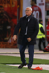 May 12, 2019 - Rome, Lazio, Italy - Roma, Lazio, Italy, 12-05-19, Italian football match between As Roma - Juventus at the Olimpico Stadium in picture coach of As Roma Claudio Ranieri , the final score is 0-2 for As Roma  (Credit Image: © Antonio Balasco/Pacific Press via ZUMA Wire)