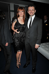 Michael Sheen and Lorraine Stewart at the annual GQ Awards held at the Royal Opera House, Covent Garden, London on 8th September 2009.