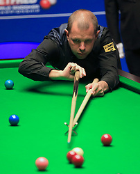 Barry Hawkins on day five of the Betfred Snooker World Championships at the Crucible Theatre, Sheffield.