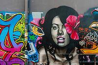 Graffiti (street art), Noumea, Grand Terre, New Caledonia