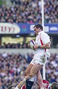 Twickenham. Surrey, UK., 16th February 2002, Six Nations International Rugby,  RFU Stadium, England vs Ireland,  [Mandatory Credit: Peter Spurrier/Intersport Images],<br /> <br /> The Lloyds TSB Six Nations Championship<br /> England v Ireland<br /> RFU - Twickenham<br /> 16/02/2002<br /> Martin Johnson<br /> <br /> <br /> <br />  <br /> <br /> <br /> <br /> <br /> <br /> <br /> <br /> <br /> <br /> <br /> Salesi Finau
